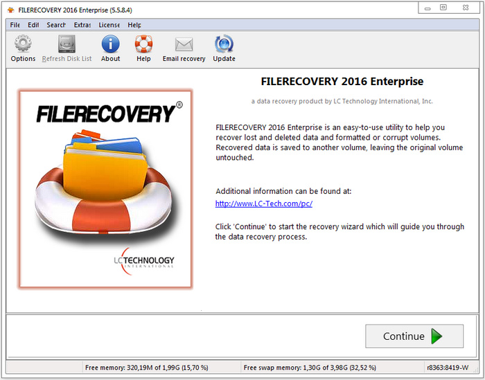 FILERECOVERY 2016 Professional & Enterprise 5.5.8.5 MacOSX