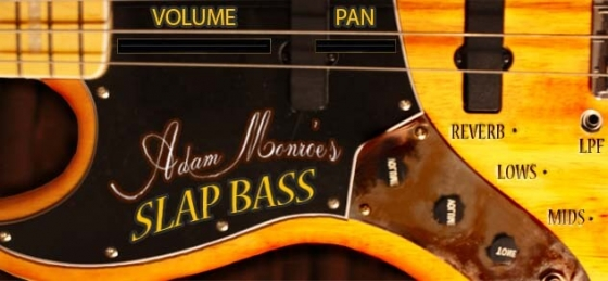 Adam Monroe Music Slap Bass v1.1 KONTAKT VST AU