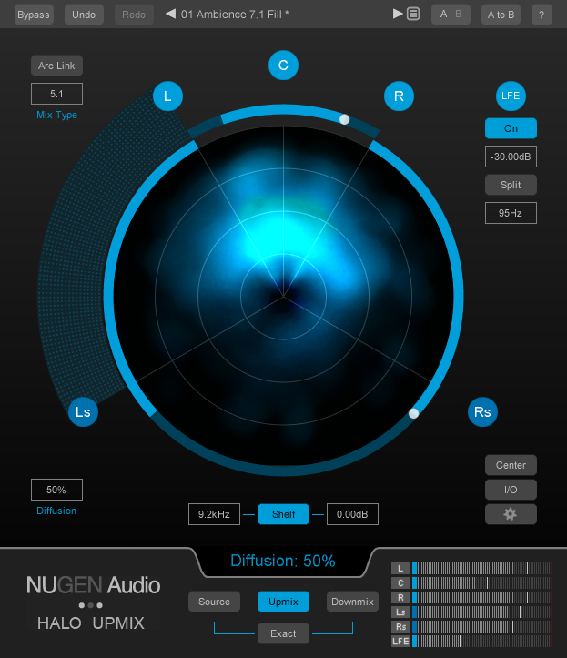NuGen Audio Halo Upmix v1.0.5 WiN