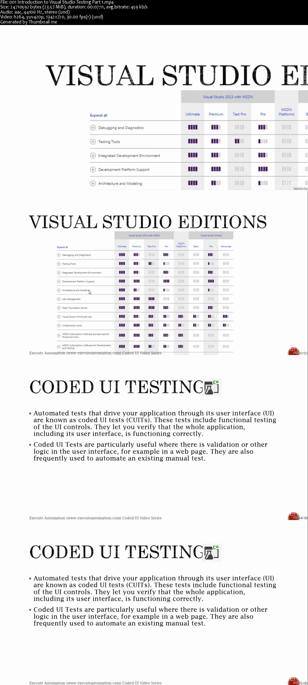 Coded UI Testing with Visual Studio 2013
