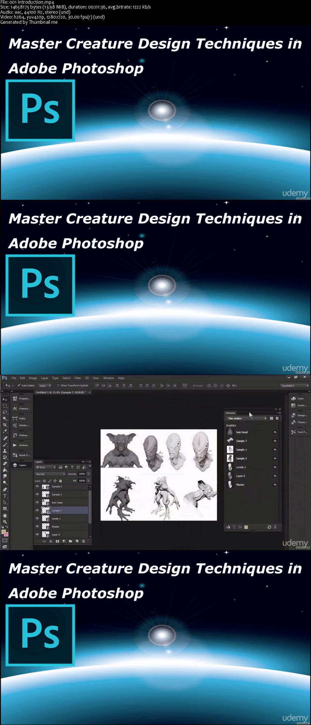 Master Creature Design Techniques in Adobe Photoshop (Pro)