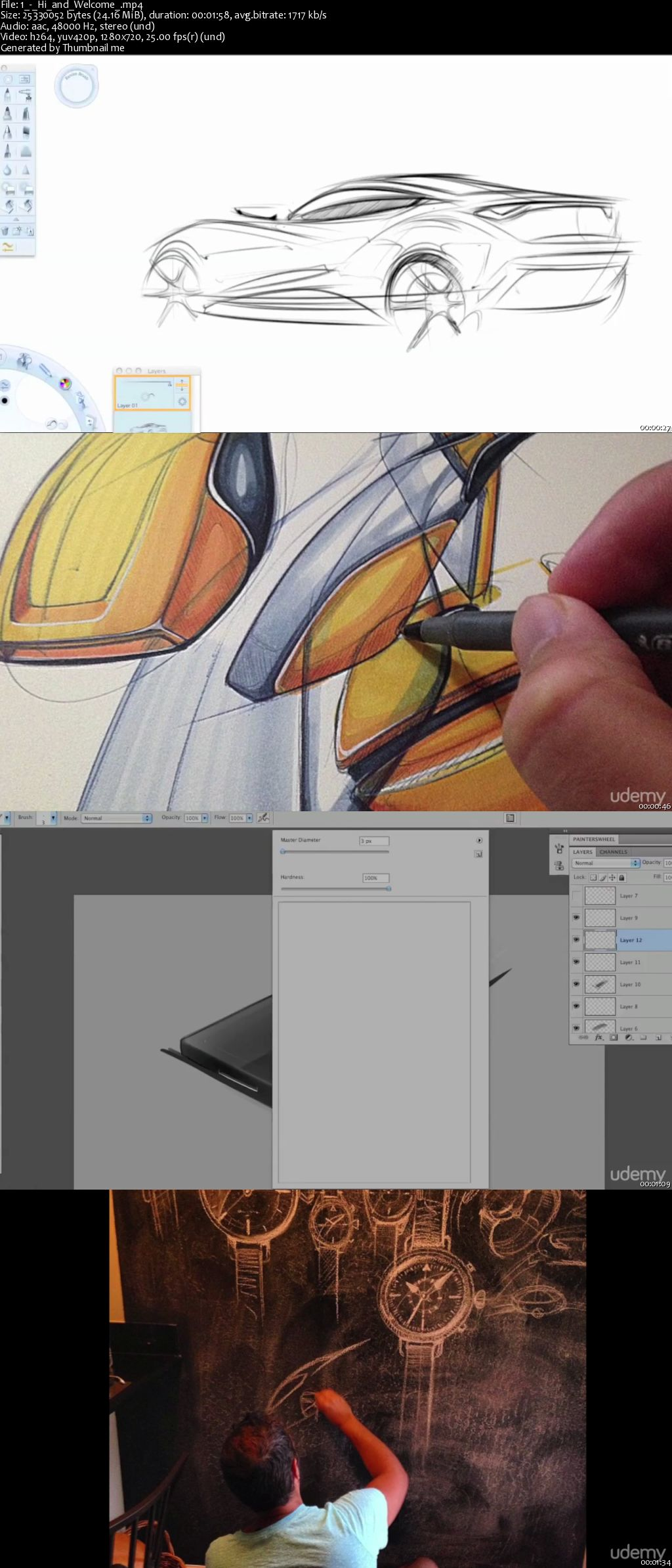 Photoshop Design: Learn basic sketching & advanced rendering in Photoshop