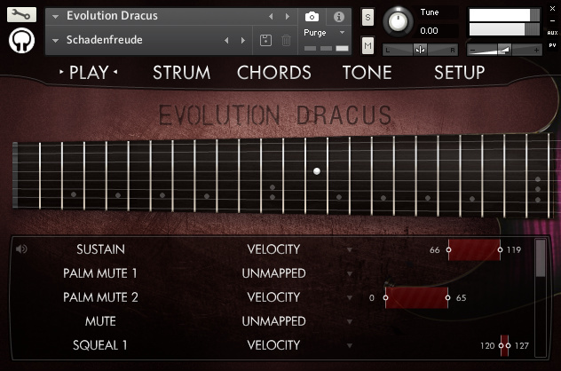 Orange Tree Samples Evolution Dracus KONTAKT