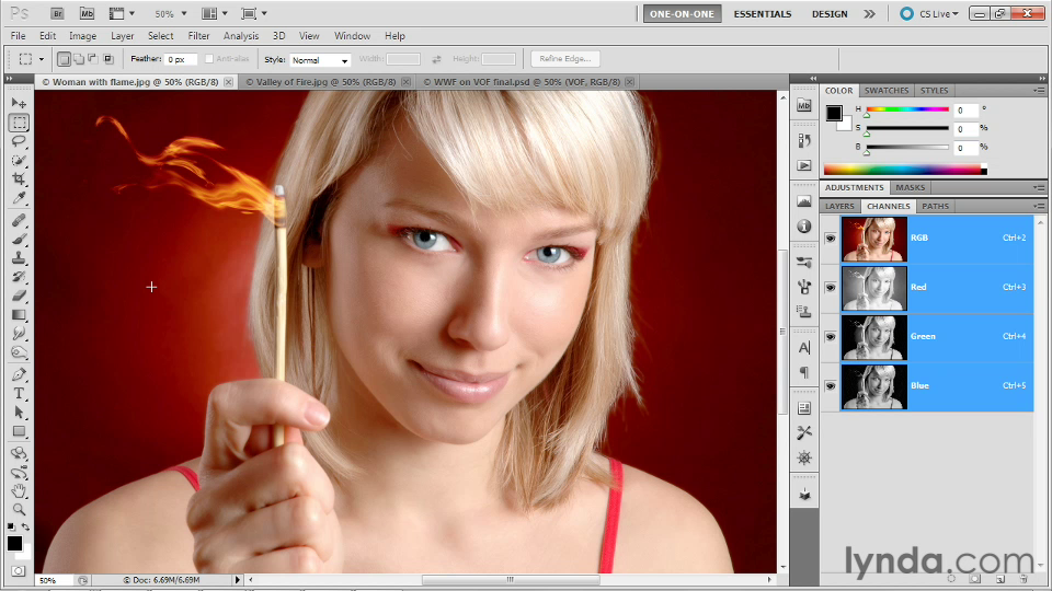 Lynda - Photoshop Masking and Compositing: Hair