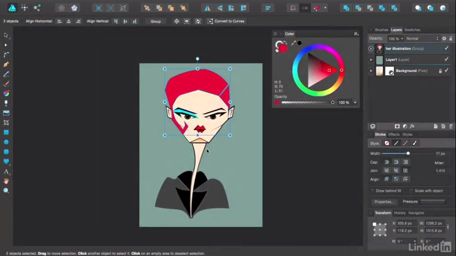 Affinity Designer Essential Training