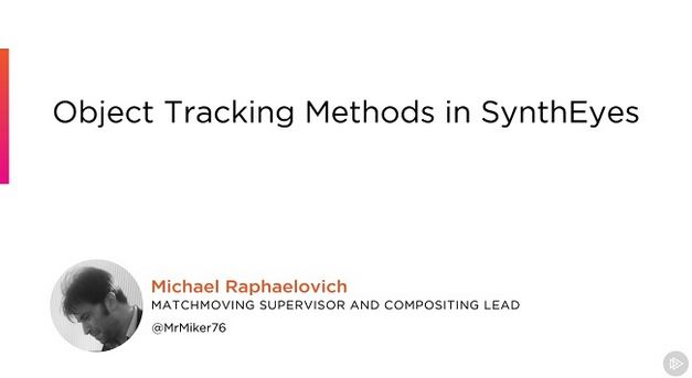 Object Tracking Methods in SynthEyes
