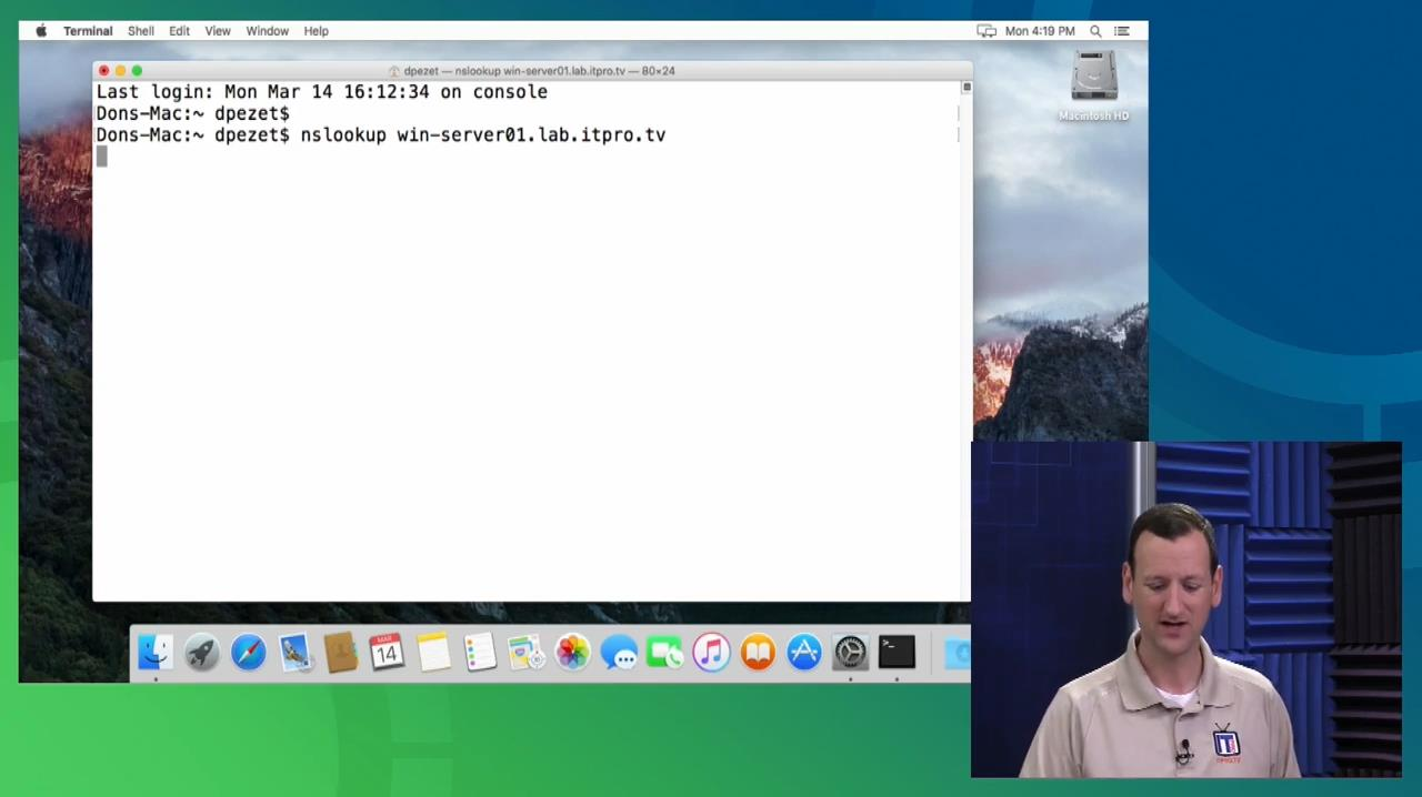 ITPRO.TV - Mac Integration Basics 10.11: El Capitan