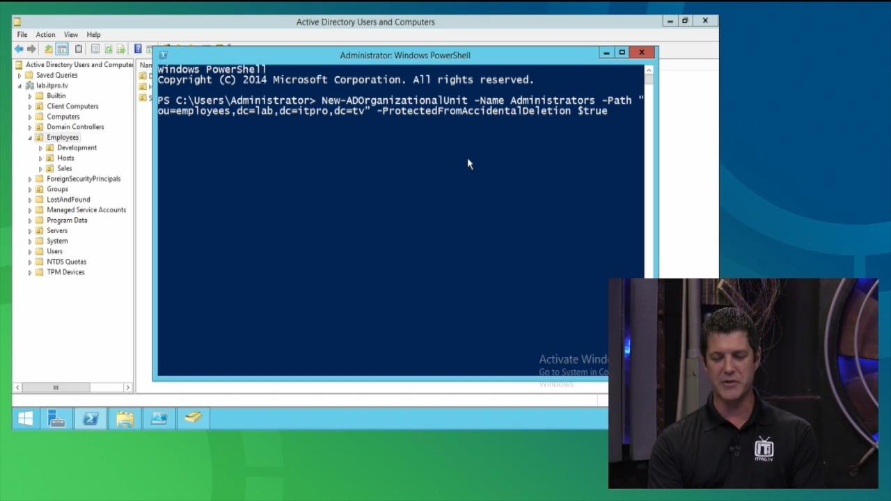 ITPRO.TV - Working with Active Directory: Deploy and maintain Active Directory