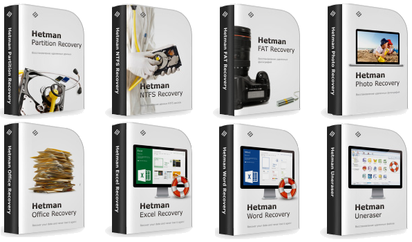 Hetman Data Recovery Pack v2.3 Final + Portable