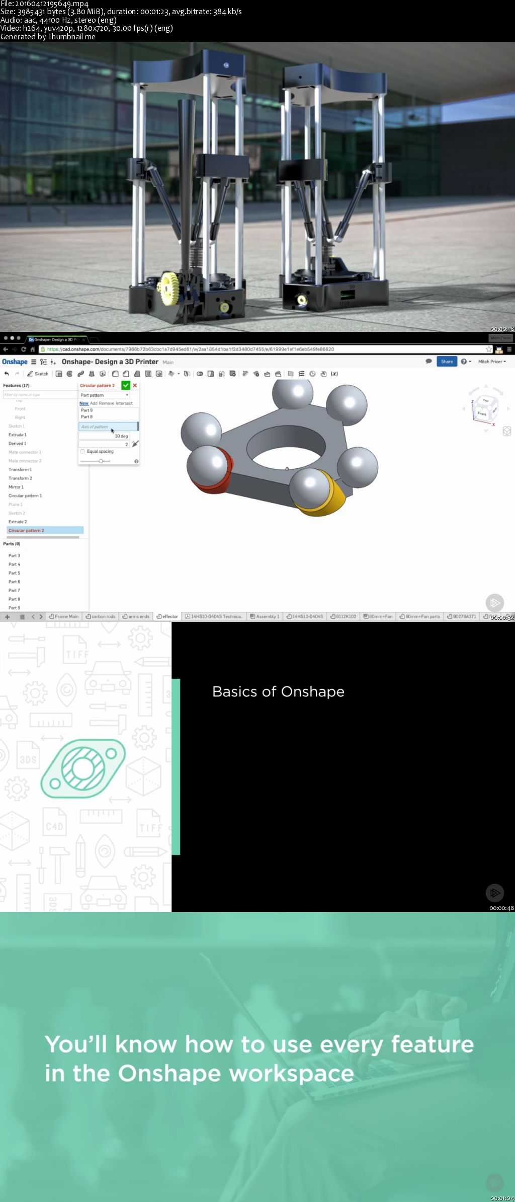 Onshape - Design a 3D Printer