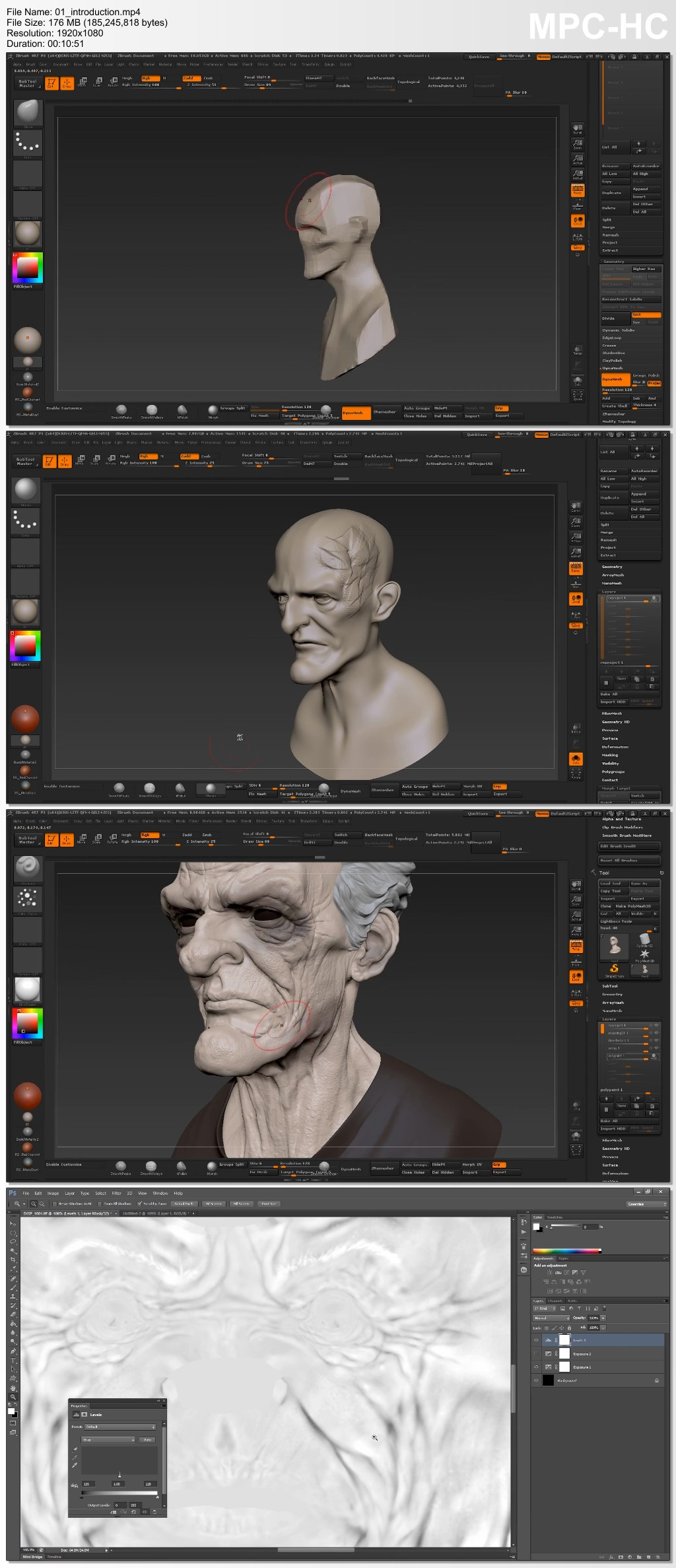 Flippednormals - The Complete MODO to ZBrush Workflow