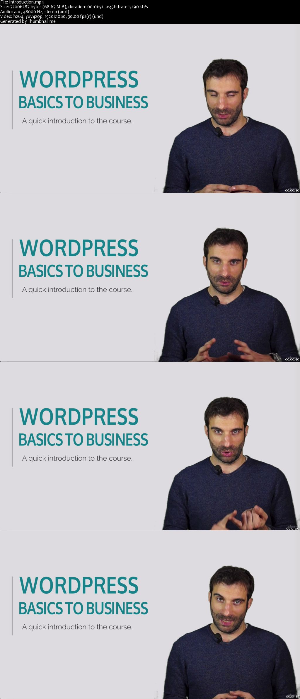 WordPress Basics to Business: Share and Sell your Expertise