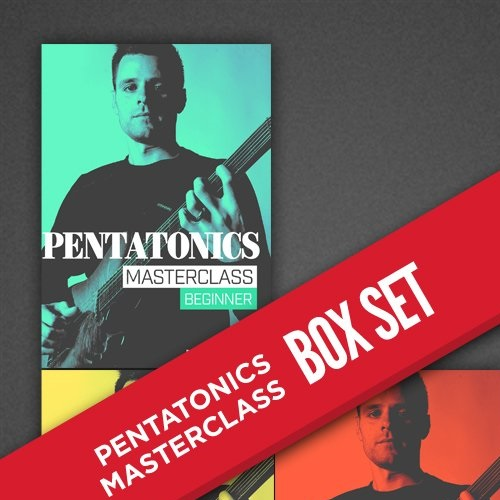 JamTrackCentral: Pentatonic Masterclass with Luca Mantovanelli (Complete Box-Set)
