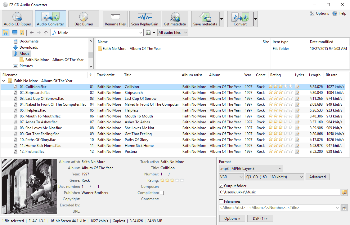 EZ CD Audio Converter 4.0.0.1 Multilingual (x86) + Portable