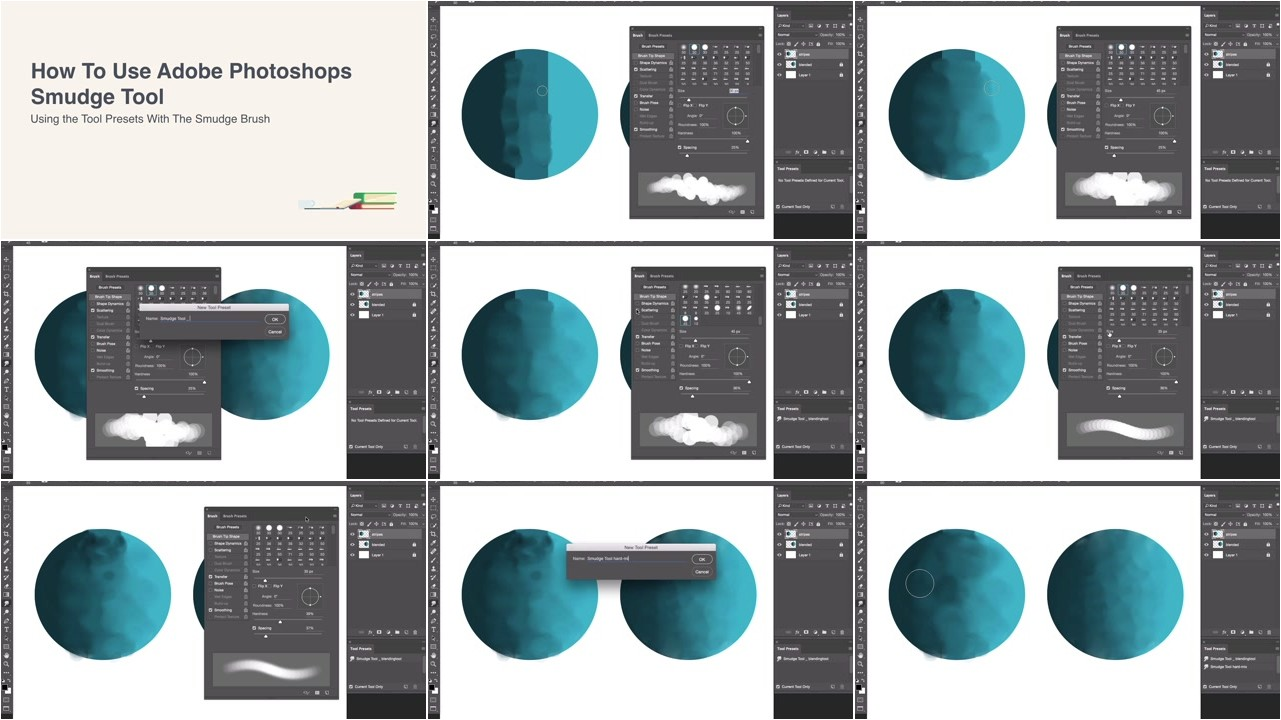 How to Use Photoshop's Smudge Tool for Digital Painting