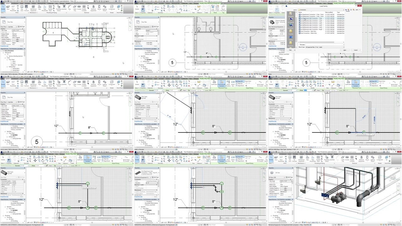 Revit 2017: Essential Training for MEP (Imperial)