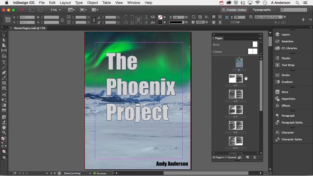 Getting Started with Adobe InDesign CC 2015