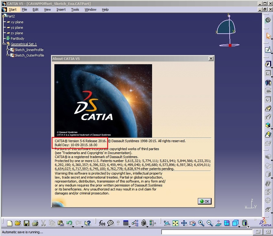 DS CATIA P3 V5-6R2016 GA (SP0)