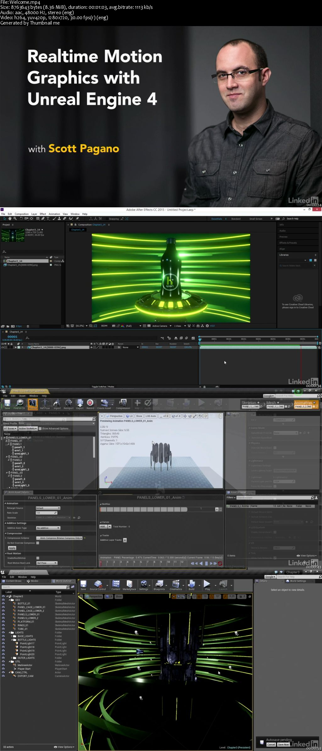 Realtime Motion Graphics with Unreal Engine 4