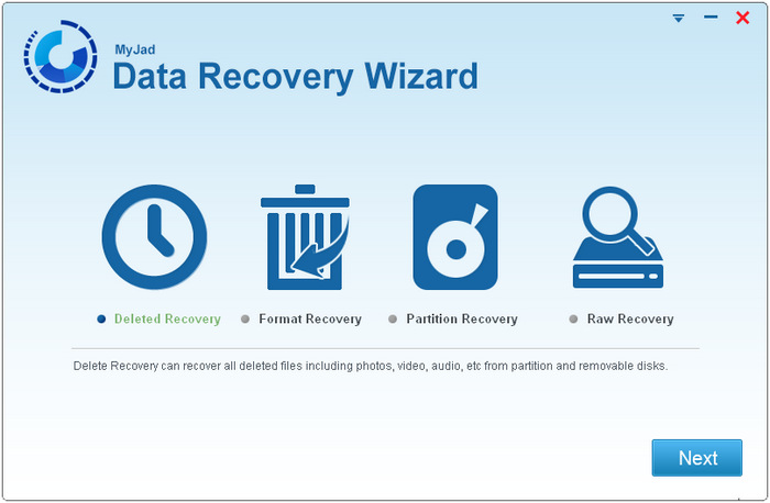 Myjad Data Recovery Wizard 5.0.0.1