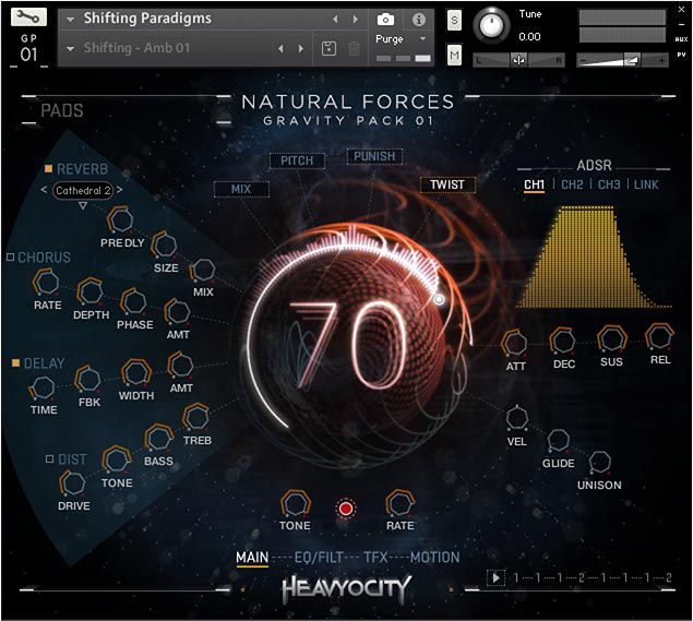 Heavyocity Natural Forces KONTAKT