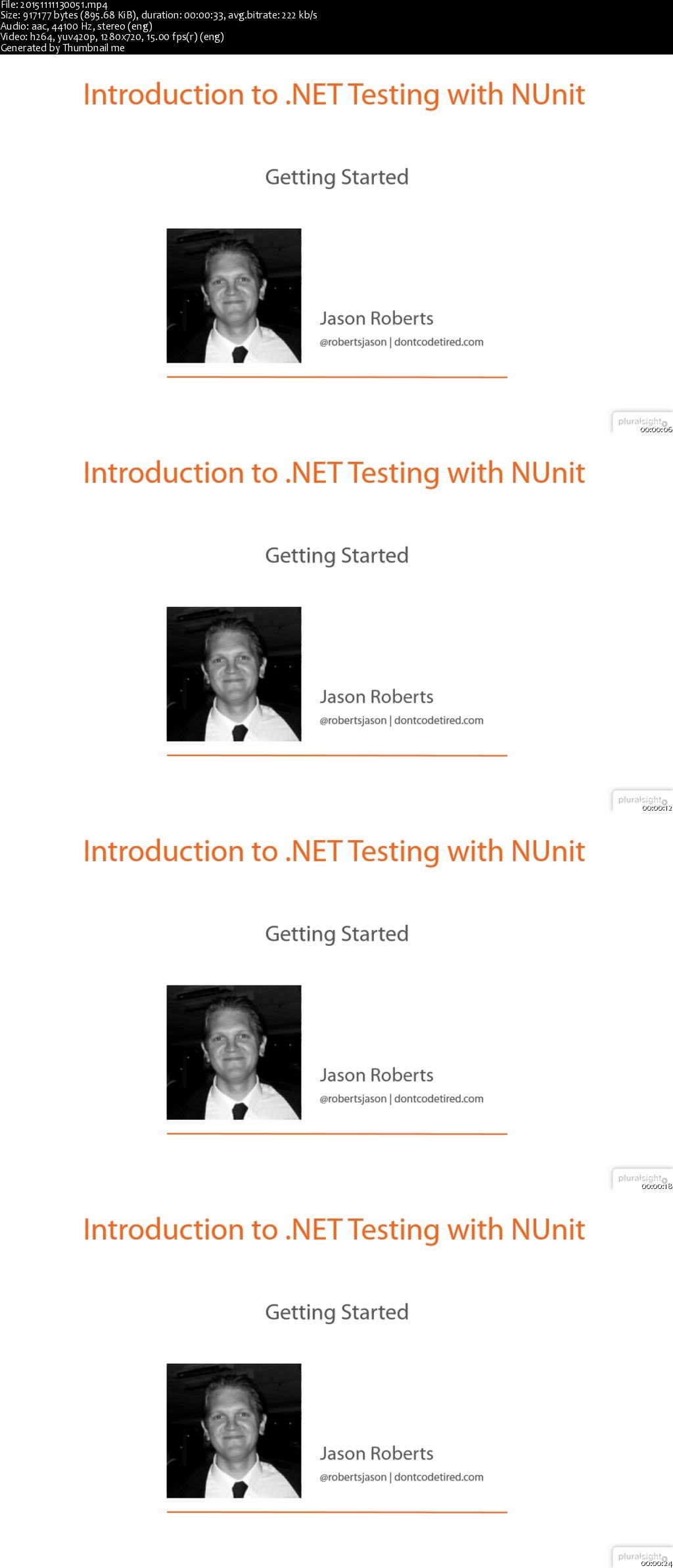 Introduction to .NET Testing with NUnit [repost]