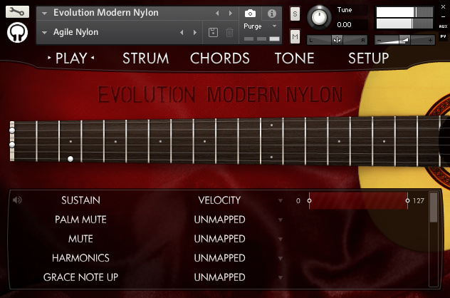 Orange Tree Samples Evolution Modern Nylon KONTAKT