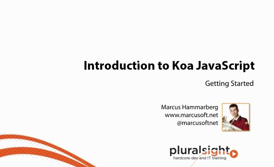 Introduction to Koa Javascript [repost]