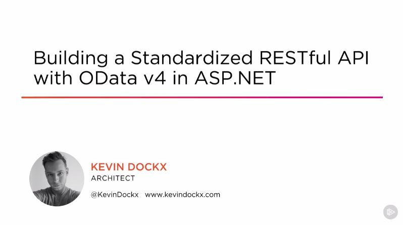 Building a Consistent RESTful API with OData V4 in ASP.NET
