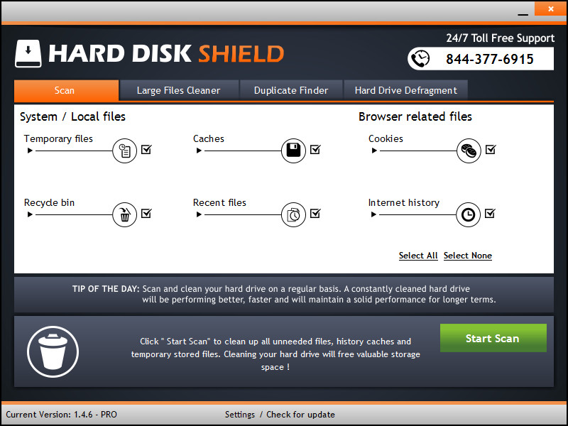 Hard Disk Shield 1.4.6 Multilingual