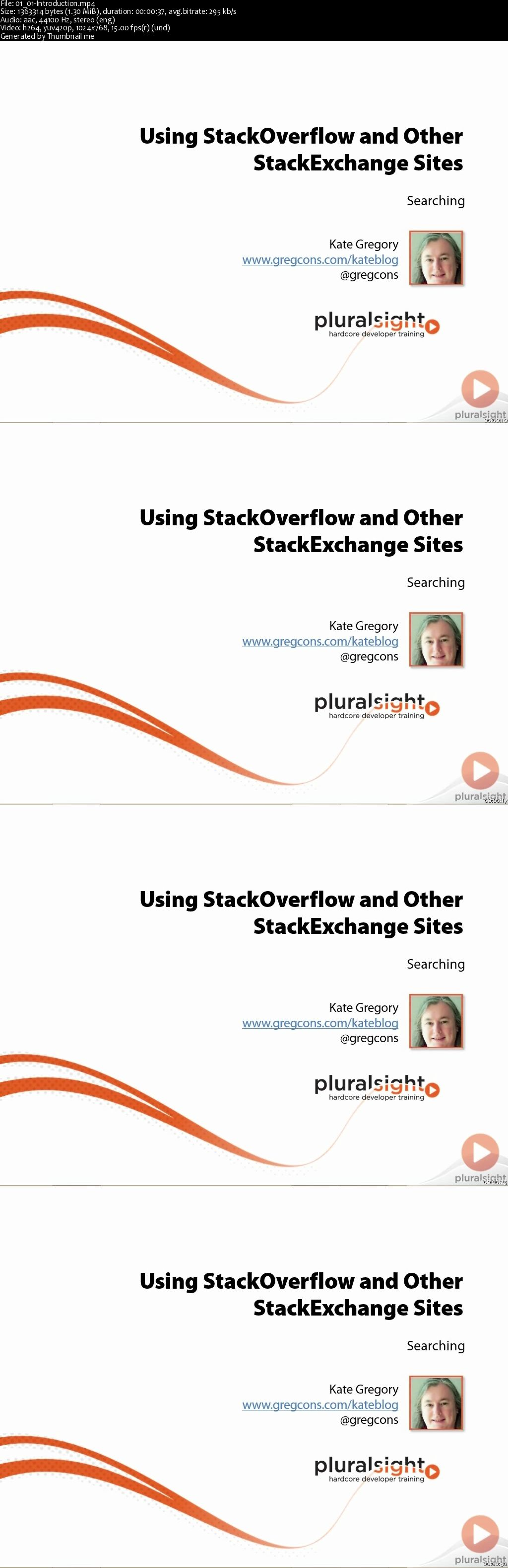 Using StackOverflow and Other StackExchange Sites