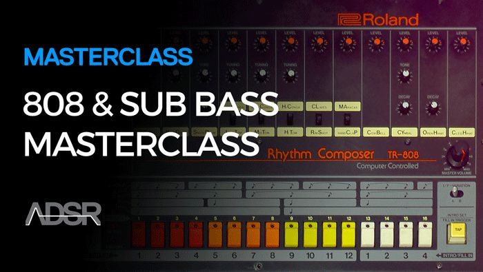 ADSR Sounds - 808 and Sub Bass Masterclass (2016)