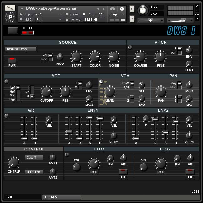 Particle Sound DW8 I KONTAKT