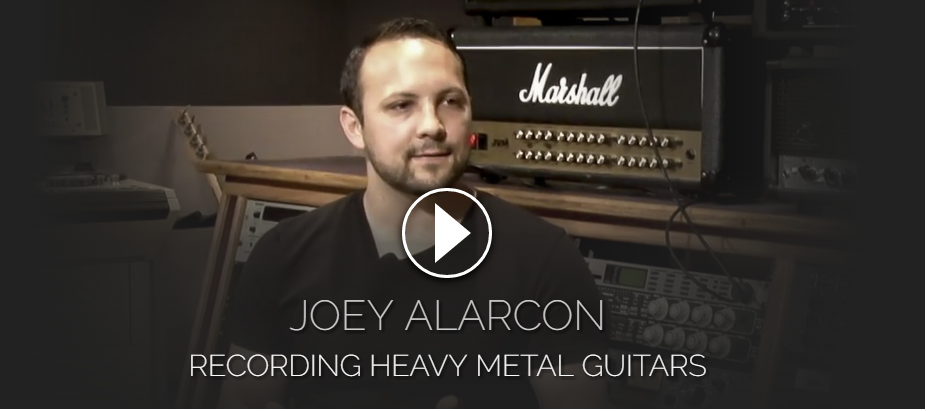 Pro Studio Live - Joey Alarcon Recording Heavy Metal Guitars (2016)