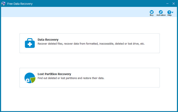 ThunderSoft Free Data Recovery 5.0