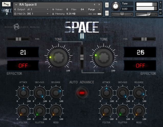 Rigid Audio Space II KONTAKT