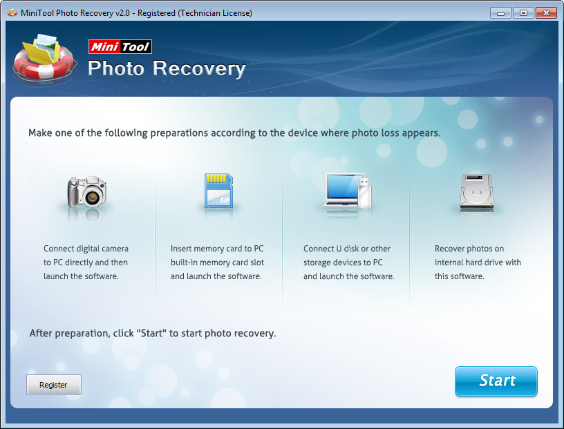 MiniTool Photo Recovery 2.0.0.1 Personal / Commercial / Enterprise / Technician