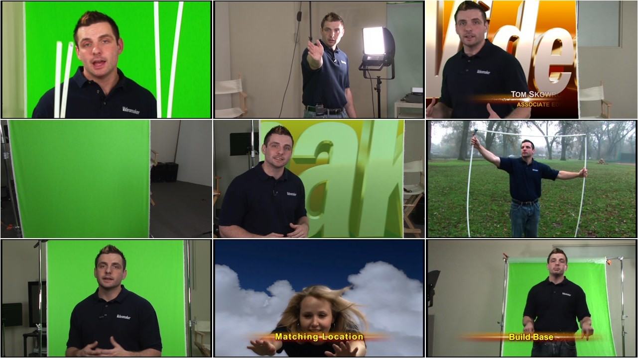 Videomaker - Green Screen Basic Training