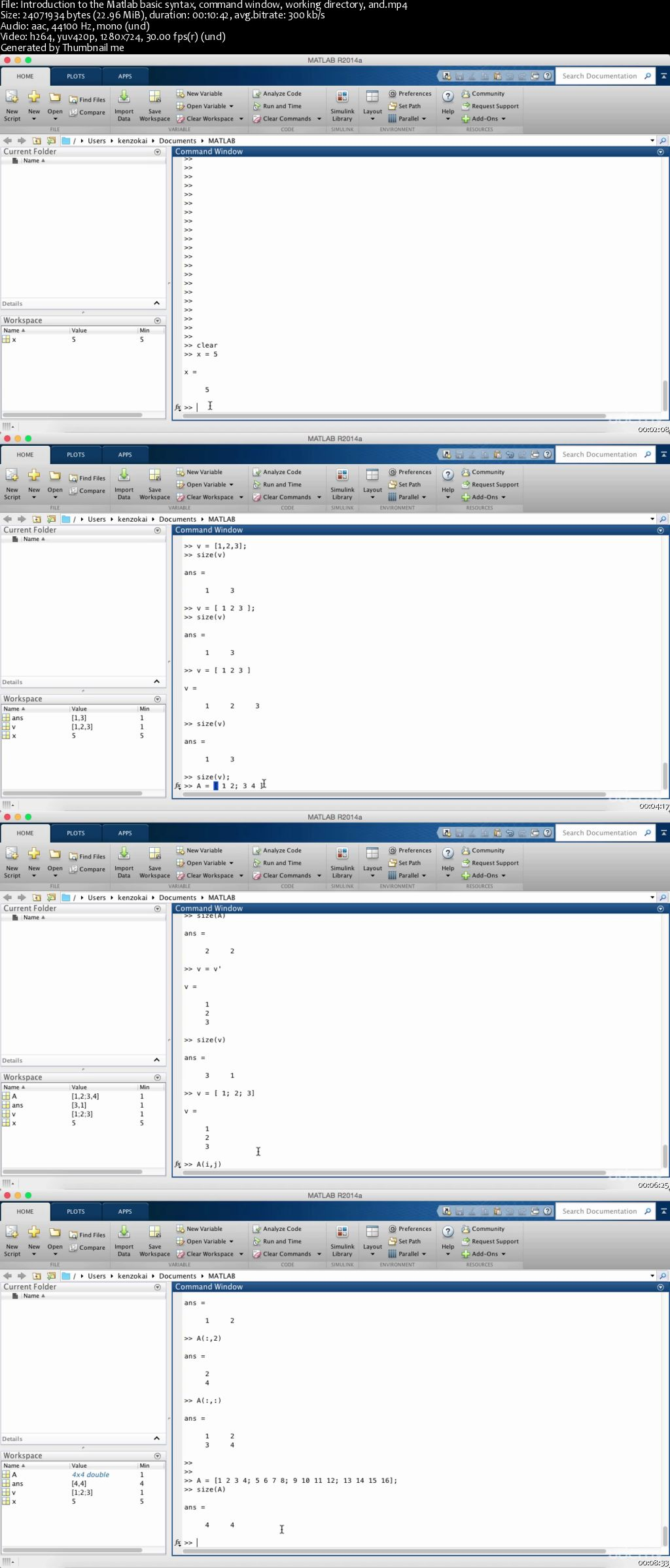 Matlab For Students and Math & Science Professionals