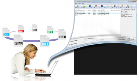 NCH Doxillion Document Converter Plus 2.43 Portable