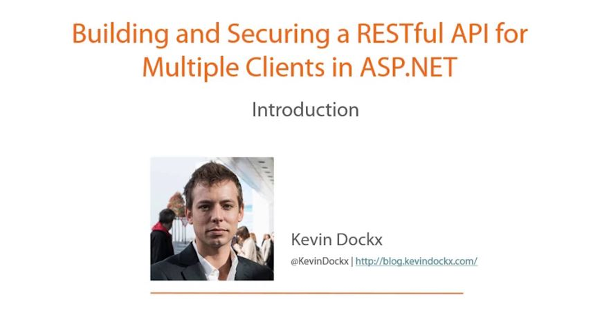 Building and Securing a RESTful API for Multiple Clients in ASP.NET [repost]