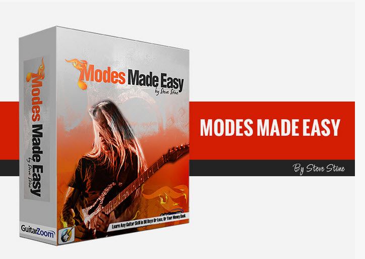 GuitarZoom - Modes Made Easy