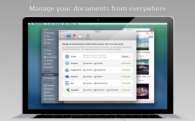 iDocument Plus 4.7 Multilangual Mac OS X