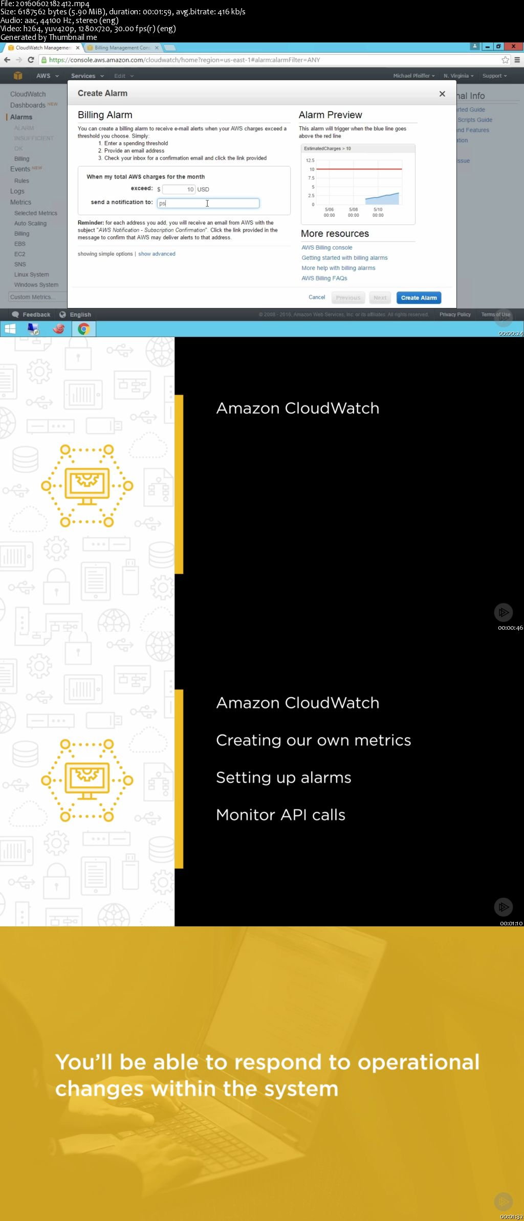 AWS Certified DevOps Engineer: Monitoring, Metrics, and Logging