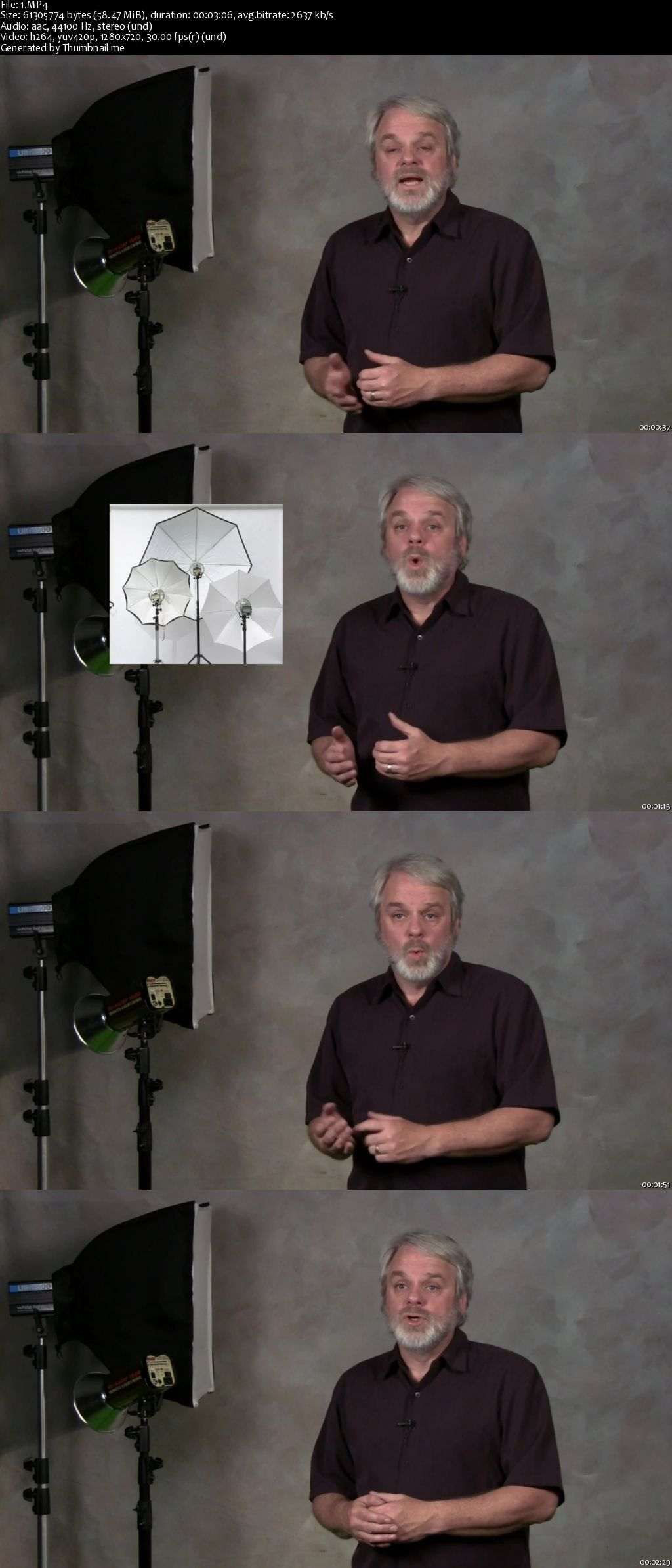 Introduction to Studio Portraiture