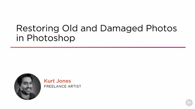 Restoring Old and Damaged Photos in Photoshop