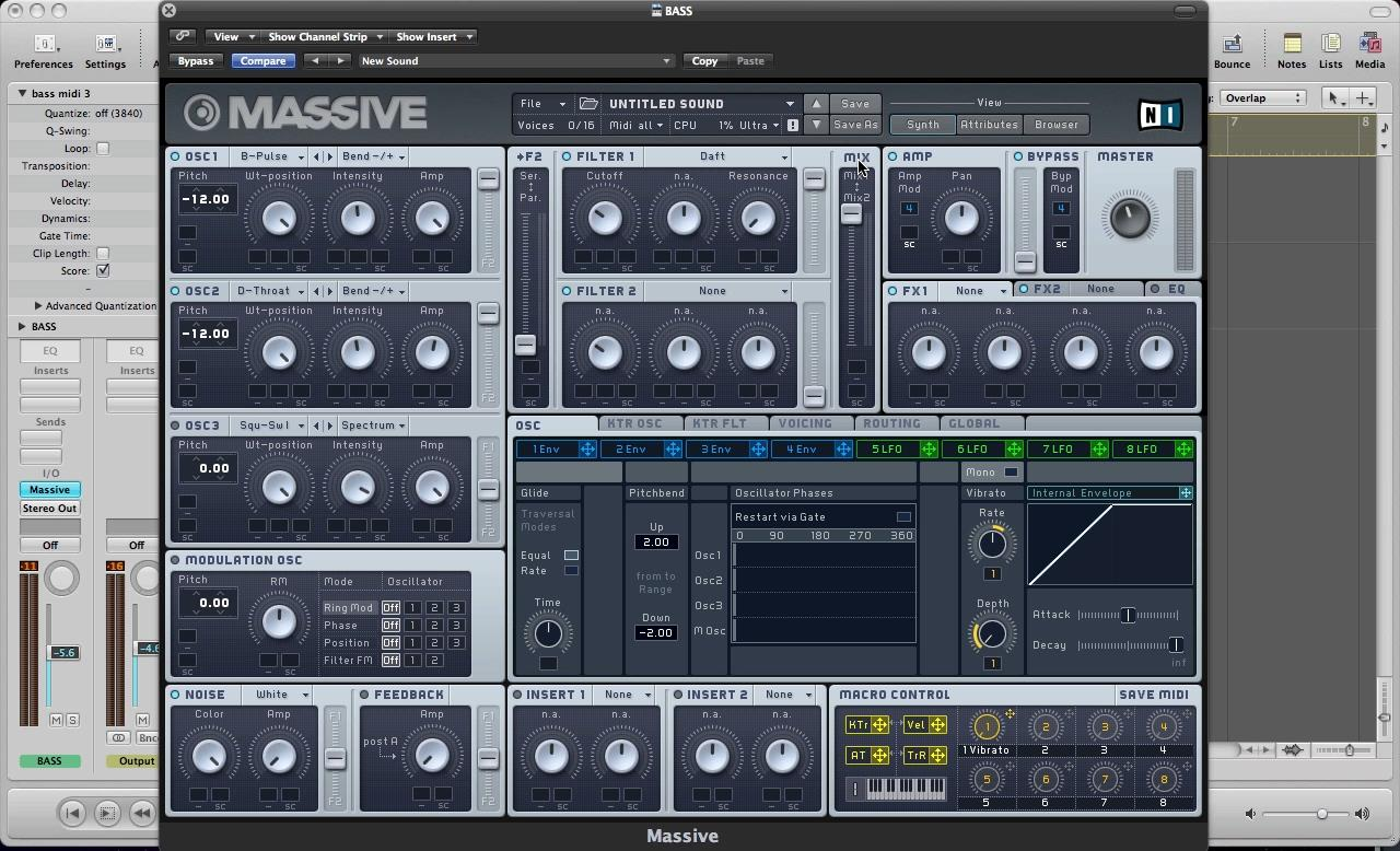 adsrsounds - Electro House In Massive – Learn The Building Blocks in under an hour.