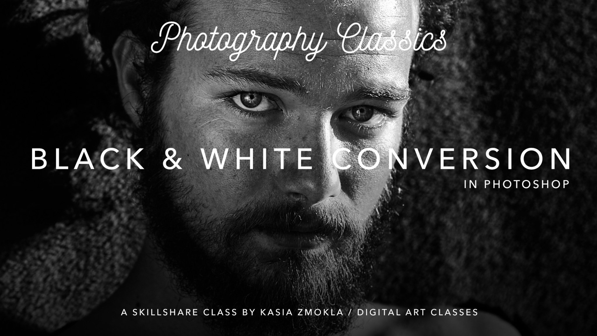 Photography Classics - Artistic B&W Conversion - Chris