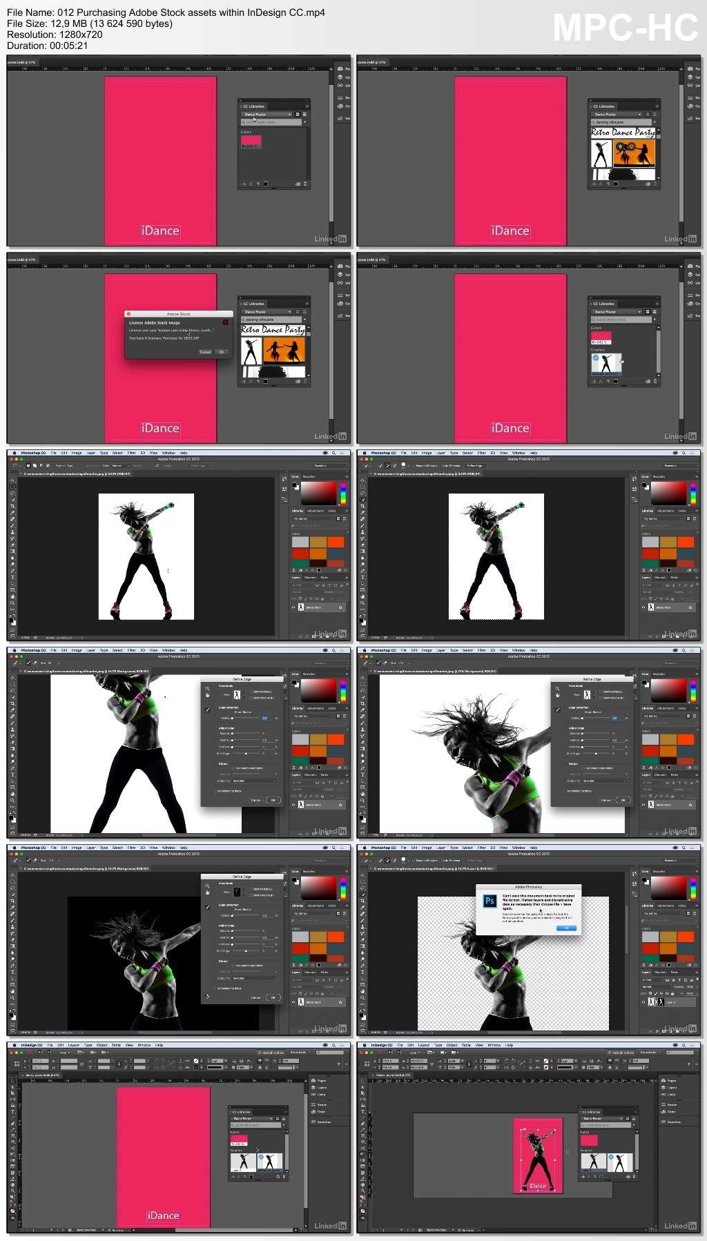 Lynda - InDesign: 2015 Creative Cloud Updates (updated Jun 21, 2016)