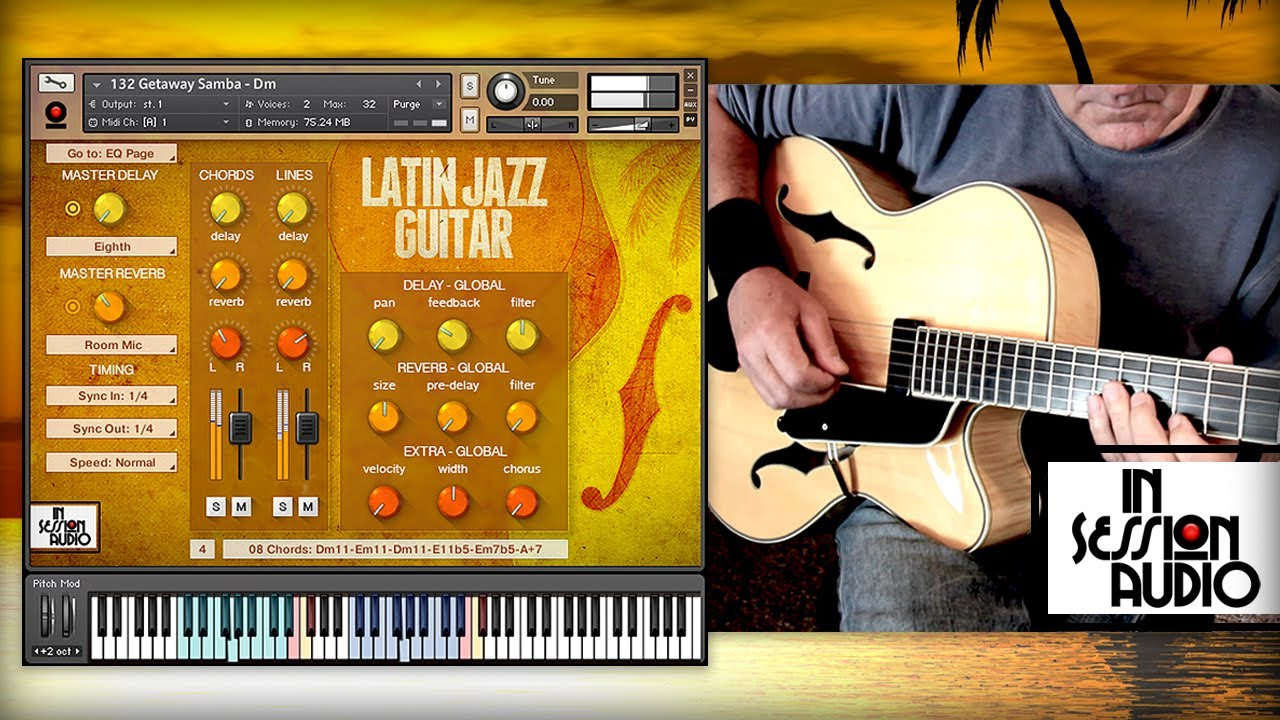 In Session Audio - Latin Jazz Guitar and Direct MULTiFORMAT
